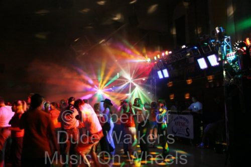 School Dance DJ Lighting