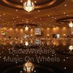 Standard System Dual Video Projection Lighting for Weddings