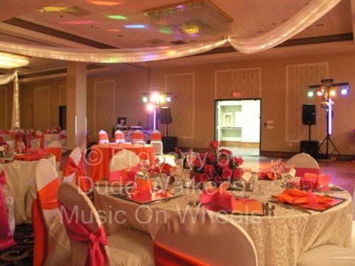 Wedding Lighting - Standard DJ Lighting System