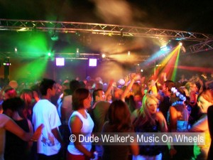 Dude Walker's Music On Wheels - College Dance Party