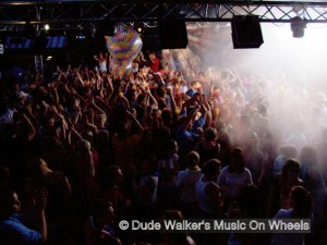 Dude Walker's Music On Wheels - College Dance Party Beach Party