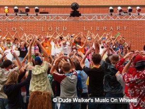 Dude Walker's Music On Wheels - College Dance Party YMCA