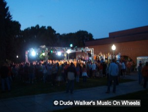 Dude Walker's Music On Wheels - Ultimate Outdoor College Dance Party