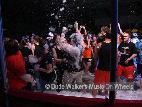 Dude Walkers Foam On Wheels | Foam Party Fun