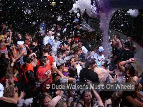 Dude Walkers Foam On Wheels | Foam Party Sensation