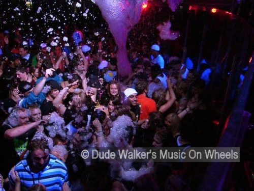 Dude Walkers Foam On Wheels | Fun In The Suds