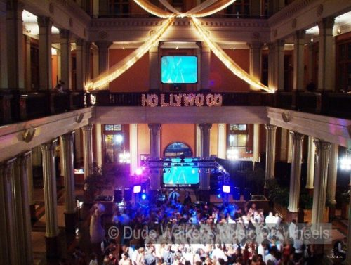 Hollywood Prom Theme - Video VJ DJ Dude Walker