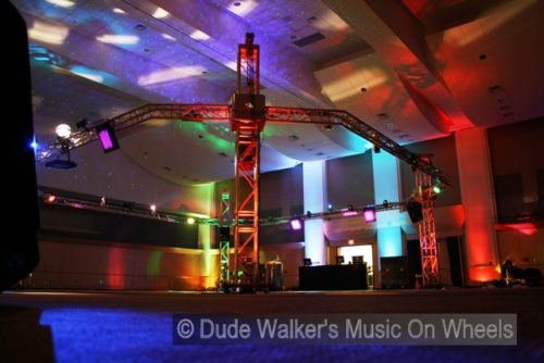 Prom DJ Portable Clubs by Dude Walker 701-234-9492 (dudewalker.org)