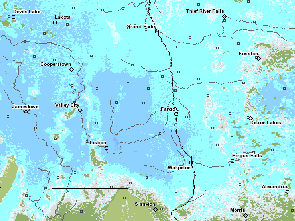 03-17-2009 Snow Water Equivalent (www.nohrsc.nws.gov)