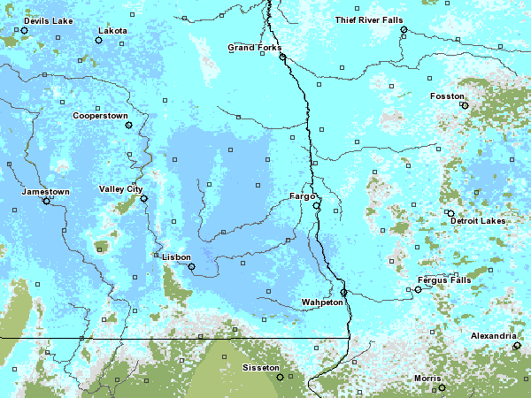 03-19-2009 Snow Water Equivalent (www.nohrsc.nws.gov)