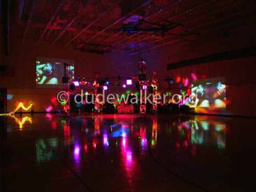 20x20 Club Party Cube Dual Video Screen