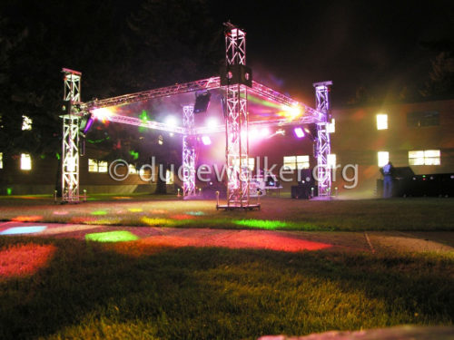 20x20 Club Party Cube Outdoor